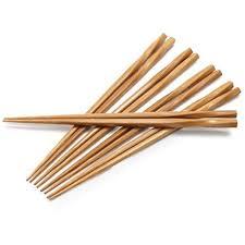 sur la table flatware amazon com sur la table twisted bamboo chopsticks bc 225tc set of