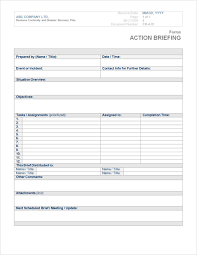 free business continuity plan