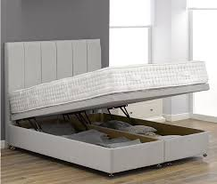 brilliant white wooden ottoman bed sweet dreams coliseum 4ft small