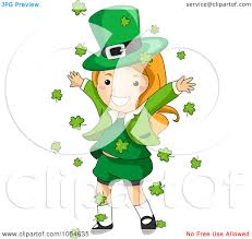 royalty free vector clip art illustration of a st patricks day