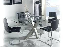 table en verre cuisine pied pour table en verre loftsessions co