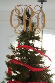 monogram tree topper christmas tree topper monogram 3 letters matworks ltd premium