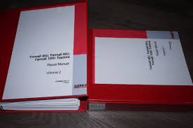 case farmall 95u 105u 115u tractor service workshop repair manual