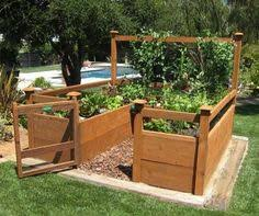 Small Vegetable Garden Ideas Pictures Lovely Enclosed Vegetable Garden With Raised Beds Backyard