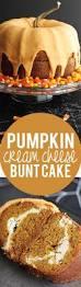 pumpkin cream cheese bundt cake recipe bunt cakes pumpkin