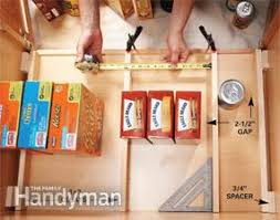 Kitchen Cabinet Rollouts Build Organized Lower Cabinet Rollouts For Increased Kitchen