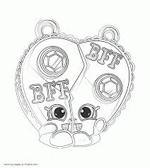 coloring pages shopkins printable chelsea charm