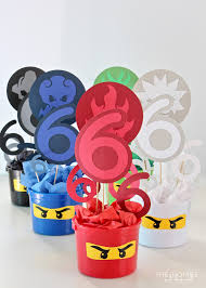 ninjago party supplies diy ninjago party decor henry s 6th birthday party the homes