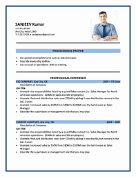 application resume format resume format for applying abroad resume for