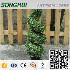 Artificial Boxwood Topiary Trees Artificial Boxwood Spiral Tree Artificial Boxwood Spiral Tree