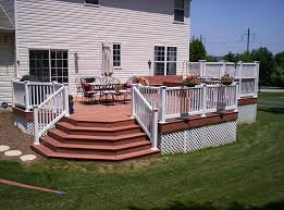 Corner Deck Stairs Design Corner Deck Stairs Design Stairs And Railings Deck Ideas
