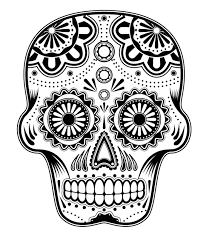 skull coloring pages adults hippies blog coloring