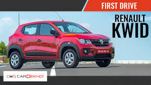 kwid renault 2016 renault kwid first drive review cardekho com youtube