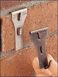 brick clips for christmas lights patio porch hang things on brick without drilling holes i never