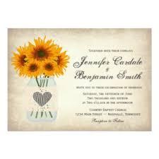 sunflower wedding invitations sunflower wedding invitations rustic country wedding invitations