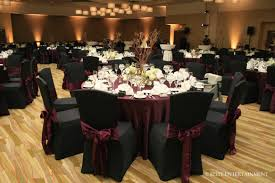 andrea u0026 brian 12 4 10 i hotel branch centerpieces chair sashes