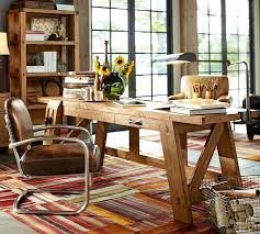 Pottery Barn Tool Bench Bench Style Office Desks From Pottery Barn Small And Large Hendrix