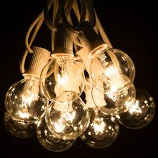 Patio String Lights White Cord by White Patio Lights String Home Design Ideas