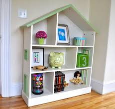 splendid tight dollhouse bookshelves kids in pink and bright