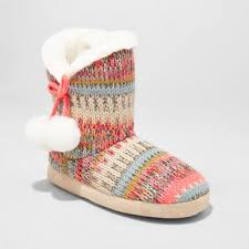 womens slipper boots size 12 slippers shoes target