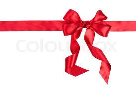 ribbon bow gift ribbon bow stock photo colourbox