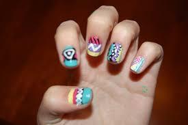 tribal nail designs pccala