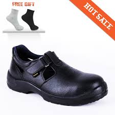 new arrival steel head protect men breathable safety shoes genuine