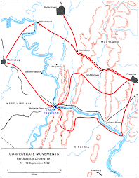 Tennessee On A Map by American Civil War Campaign Area And Battle Maps
