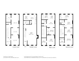 townhouse floor plan with elevator