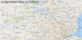 Map Of Michigan And Canada by About That Judgmental Map Of Detroit News Hits