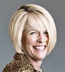 bob haircuts for fine hair in 50 women soft graduated bob is another elegant hairstyle for over 50 women