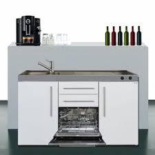 miniküche mit geschirrspüler 150 cm breit mit geschirrspüler und kühlschrank a