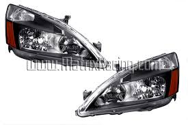 2004 honda accord headlights matrix racing altezza lights clear projector
