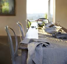 Dining Room Table Runners by Linen Table Runner Rough Linen 100 Natural Table Linen