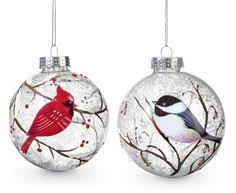 found it at wayfair chickadee and cardinal tiered ornament