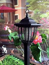 amazon com solar powered electric bug light zapper outdoor
