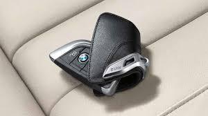 bmw 5 series key fob bmw genuine key holder fob leather cover luxury black f15 x5