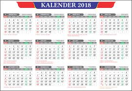 Kalender 2018 Hari Libur Kalender 2018 Dan Tanggalan Hijriyah Jawa Lengkap Gratis