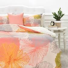 Pink And Yellow Bedding Modern Orange Bedding Sets Allmodern