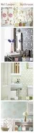 33 best wallpaper bathrooms images on pinterest room bathroom