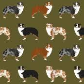 australian shepherd tan australian shepherd fabric wallpaper u0026 gift wrap spoonflower
