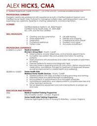 medical field resume templates 847 best resume samples across all
