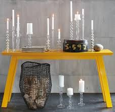 Yellow Console Table Dose Of Design November 2008