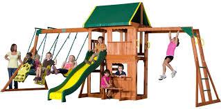 Best Backyard Swing Sets by Swing Sets For Kids Swing Set Resource