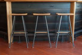 bar stools winsome bar stools with wooden seat and metal legs