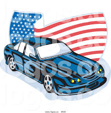 american car logos royalty free vector logo of an american ford gt v8 by patrimonio