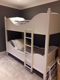 Sleigh Bunk Beds White Company Sleigh Bunk Beds White One Mattress Spare So