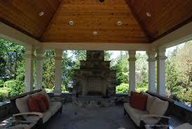 Pool Pavilion Plans Ultimate Luxury Pool U0026 Backyard In Potomac Md Land U0026 Water