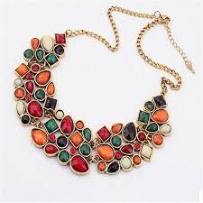 ethnic necklace vintage images Bohemia ethnic necklace pendant multi layer beads jewelry jpg