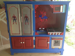 Homemade Play Kitchen Ideas 25 Recycled Upcycled Entertainment Centers Furniture Projects